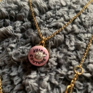 Cupcake Juicy Couture necklace.